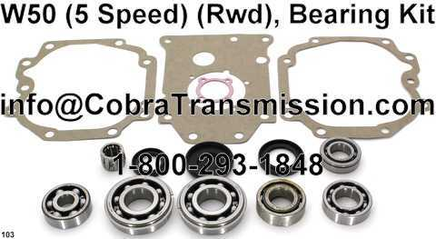 W50 Bearing, Gasket and Seal Kit