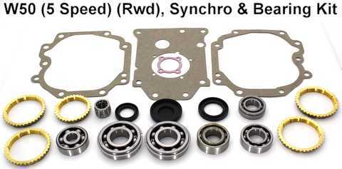 W50 Synchro, Bearing, Gasket and Seal Kit