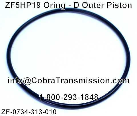 ZF5HP19 Oring - D Outer Piston