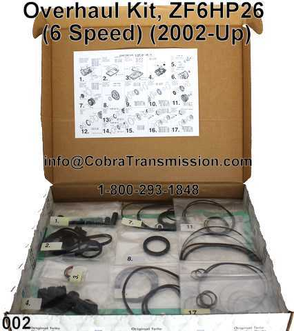 Overhaul Kit, ZF6HP26X
