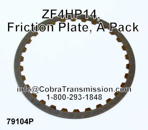 ZF4HP14, Friction Plate, A Pack