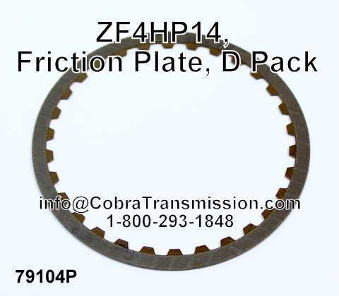 ZF4HP14, Friction Plate, D Pack