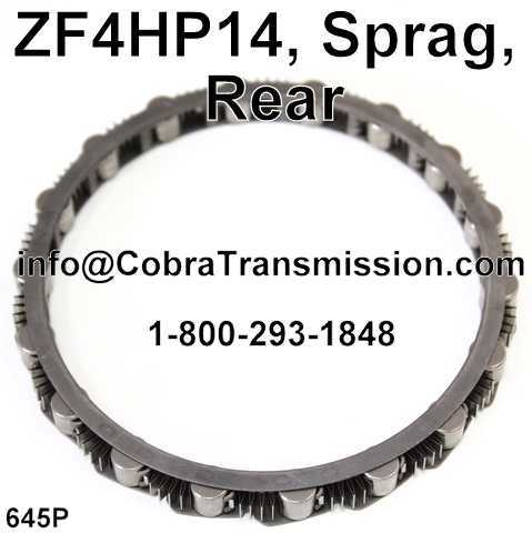 ZF4HP14, Sprag, Rear