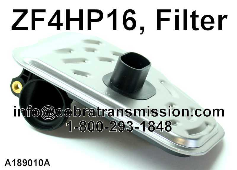 ZF4HP16, Filter
