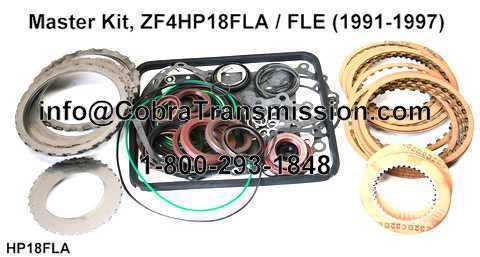 Master Kit, ZF4HP18FLA / FLE (1991-1997)