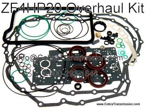 Overhaul Kit, ZF4HP20 (LMO) (1999-Up)