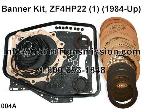 Banner Kit, ZF4HP22 (1) (1984-Up)