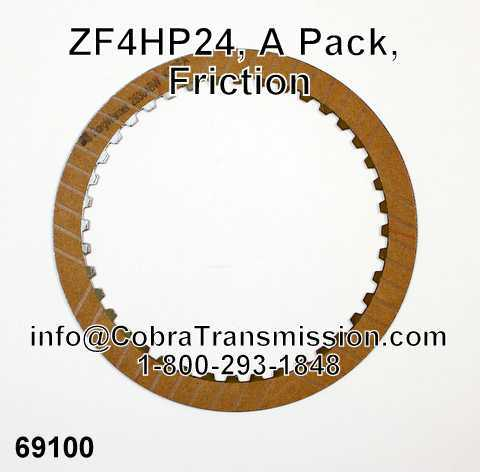ZF4HP24, A Pack, Friction