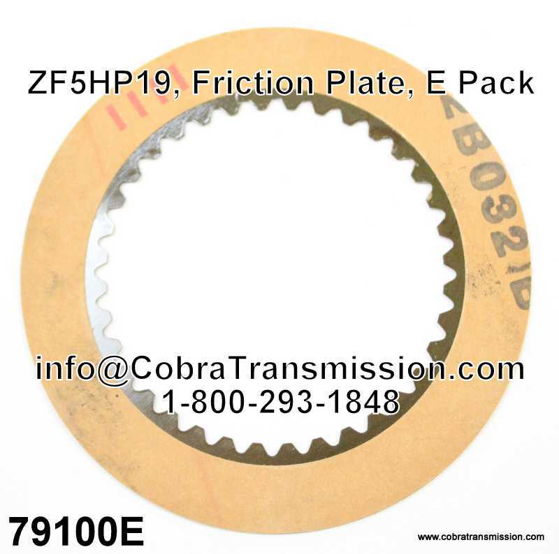 ZF5HP19, Friction Plate, E Pack