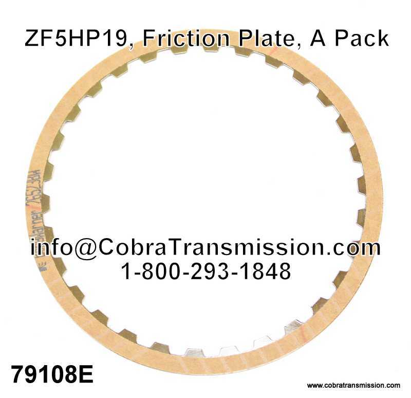 ZF5HP19, Friction Plate, A Pack