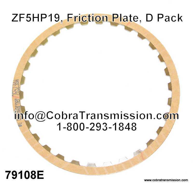 ZF5HP19, Friction Plate, D Pack