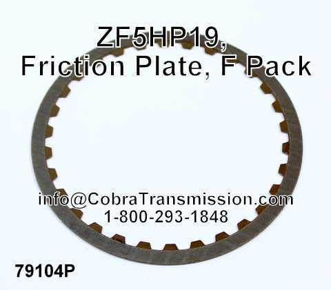 ZF5HP19, Friction Plate, F Pack
