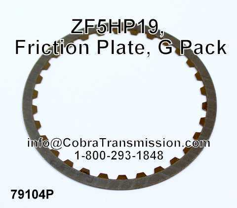 ZF5HP19, Friction Plate, G Pack
