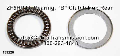 "ZF5HP24, Bearing, ""B"" Clutch Hub Rear"