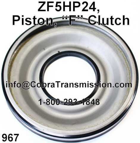 "ZF5HP24, Piston, ""F"" Embrague"