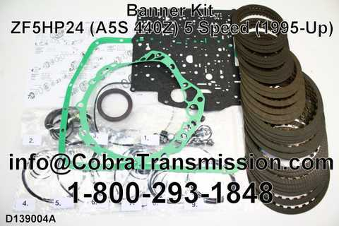 Banner Kit, ZF5HP24 (A5S 440Z) 5 Speed (1995-Up)