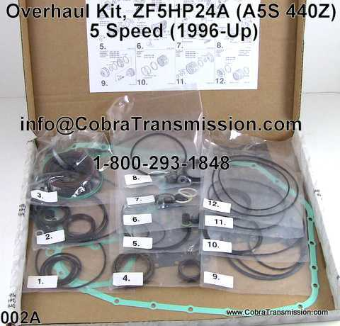 Overhaul Kit, ZF5HP24A (A5S 440Z) 5 Speed (1996-Up)