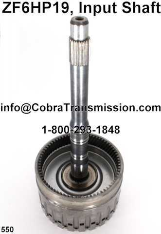 ZF6HP19, Input Shaft