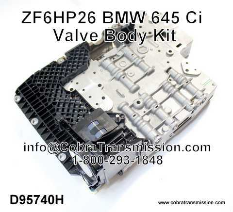 ZF6HP26 BMW 645 Ci Valve Body Kit