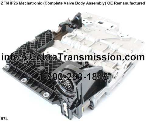 ZF6HP26 Mechatronic (Complete Valve Body Assembly) OE Remanufact