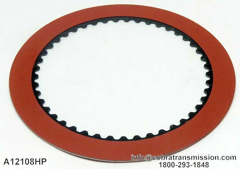 A904 (TF6), Forward High Performance Red Friction Plate