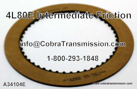 4L80E Intermediate Friction - 34104E