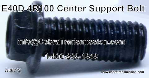 E40D, 4R100, Bolt, Center Support Bolt