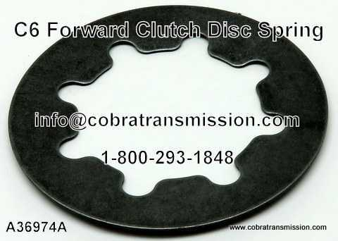 C6 Forward Clutch Disc Spring
