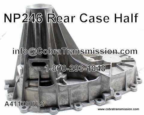 NP 246, Case Half (Rear)