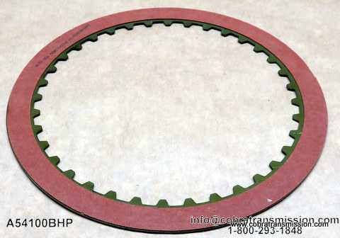 200-4R, 4th Clutch Friction Plate
