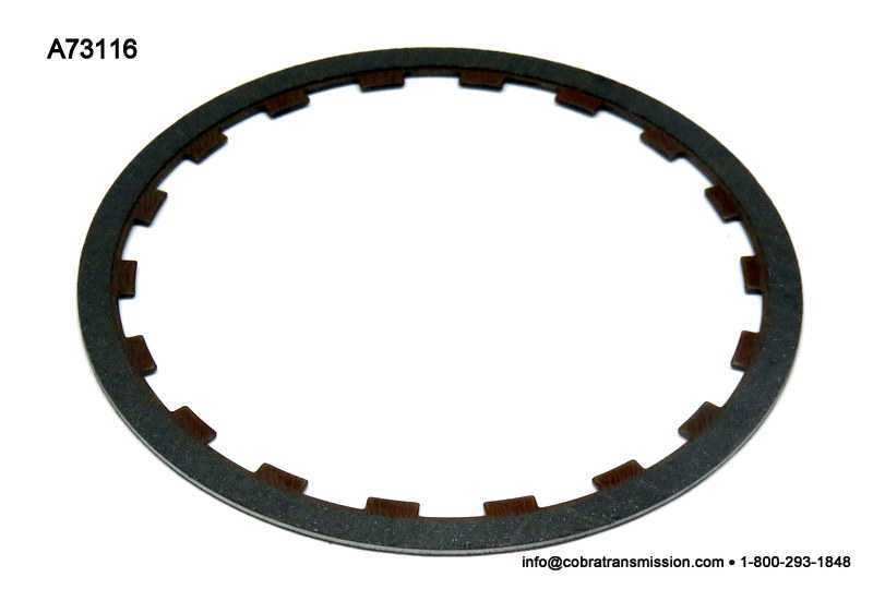 RE4R01A Friction Plate, Overrun