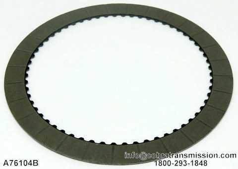 4R70W/4R75W Grooved Intermediate Friction Plate