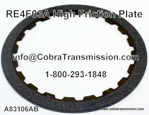 RE4F03A Friction Plate, High