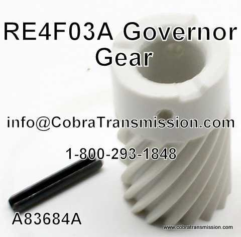 RE4F03A Governor Gear
