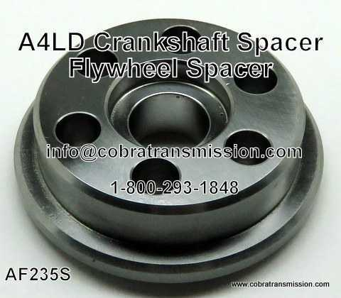 A4LD Flywheel Spacer, 6 Bolt