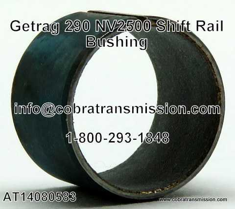 Getrag 290, NV1500, NV3500, NV3550 Shift Rail Bushing
