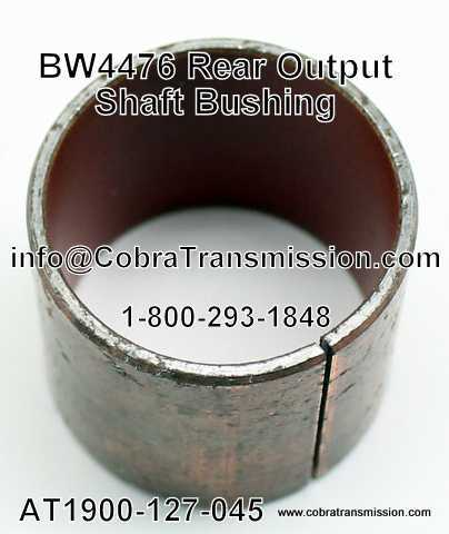 BW 4476 Bushing, Rear Output Shaft Cadillac SRX