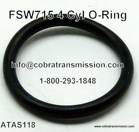 Nissan FSW715, 4 Cyl O Ring