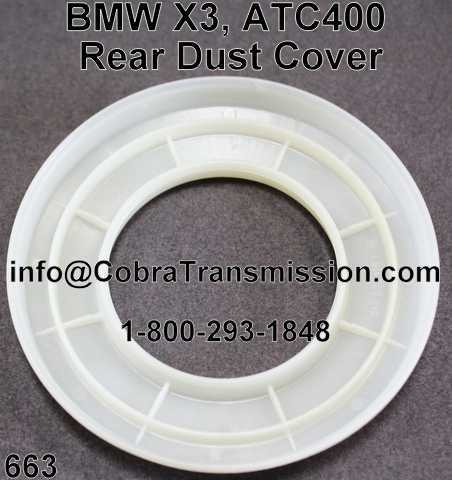 BMW X3, ATC400 Rear Dust Cover