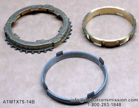 MTX75 1-2 Ring - 3 Piece