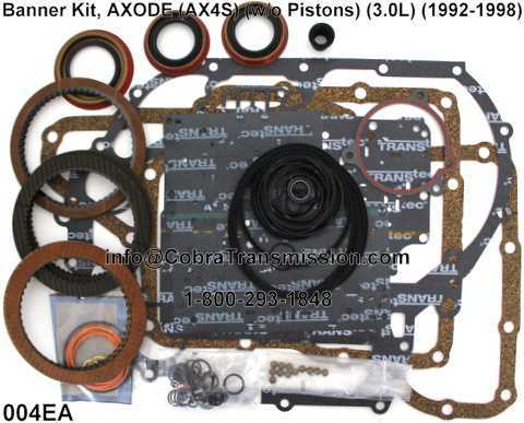 Banner Kit, AXODE (AX4S) (w/o Pistons) (3.0L) (1992-1998)