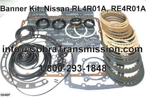 Banner Kit, Nissan RL4R01A, RE4R01A 4Wd