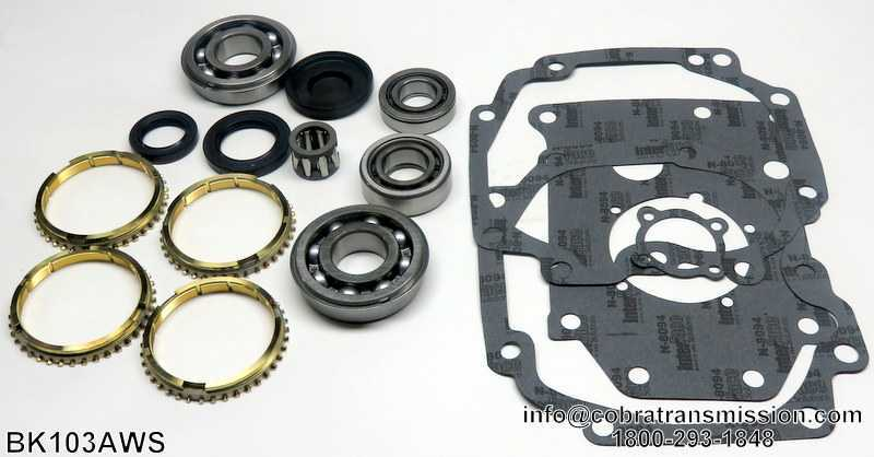 W40Synchro, Bearing, Gasket and Seal Kit