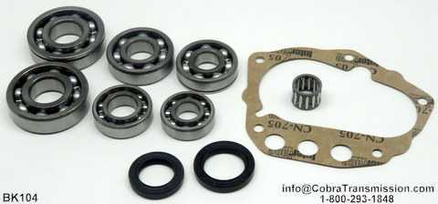 Nissan FS5W71A Bearing, Gasket and Seal Kit
