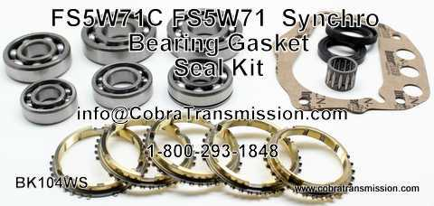 Nissan FS5W 71 Synchro, Bearing, Gasket and Seal Kit