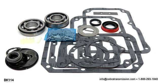 T18, Bearing, Gasket and Seal Kit