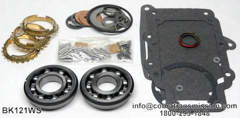 T15 Synchro, Bearing, Gasket and Seal Kit