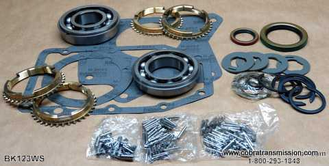 T176, Synchro, Bearing, Gasket and Seal Kit