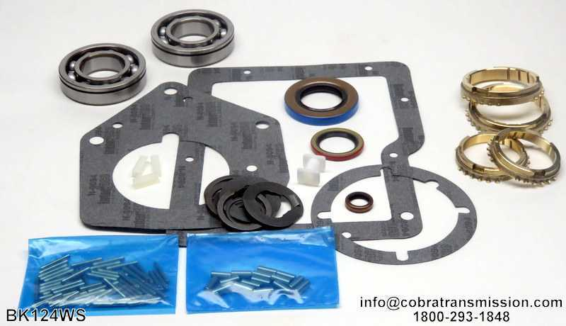 RAD, SR4 Synchro, Bearing, Gasket and Seal Kit