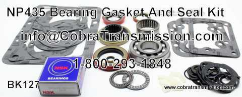 NP 435, Bearing, Gasket and Seal Kit